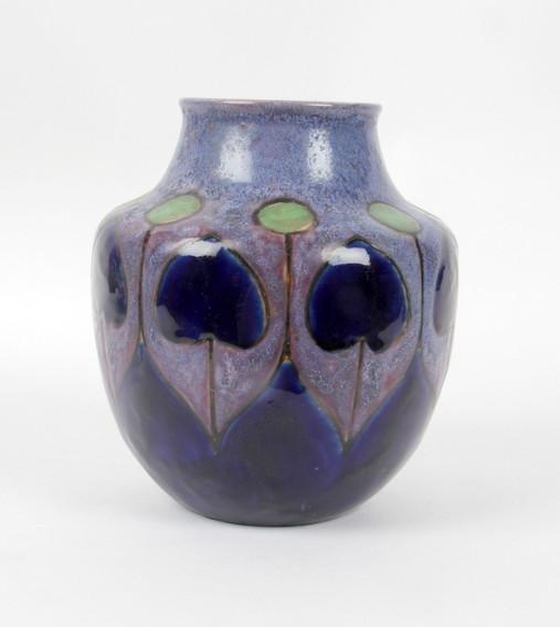 Royal doulton lambeth stoneware arts and crafts pottery for Arts and crafts vases pottery